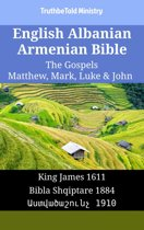 English Albanian Armenian Bible - The Gospels - Matthew, Mark, Luke & John