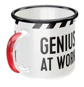 Emaille Mok Genius At Work