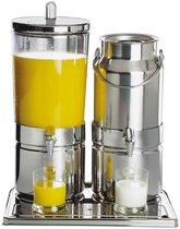 """Sap en melkdispenser duo """"mix top fresh"""", 6 & 5 liter"""