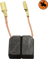 Koolborstelset voor Black & Decker P5413BA - 6,3x8x13,5mm