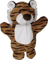 Handpop tijger 27 cm