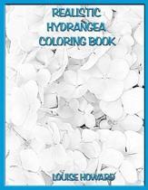 Realistic Hydrangea Coloring Book