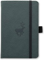Dingbats A6 Pocket Wildlife Green Deer Notebook - Dotted