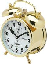 Mechanishe wekker van het merk Adora-goudkleurig 860