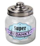 Snoeppot  Super Bedankt