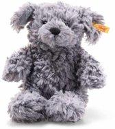 Steiff Soft Cuddly Friends - Toni dog, blue grey - 18cm