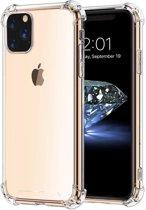 Hoesje voor Apple iPhone 11 Pro, gel case met verstevigde hoeken, volledig doorzichtig