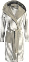 Esprit Striped Hoodie Badjas Mocca XL