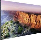 Grand Canyon Arizona  Aluminium 90x60 cm - Foto print op Aluminium (metaal wanddecoratie)