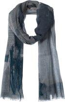 Amor Collections - Langwerpige Sjaal - Katoen - Grijs - 100x200 cm