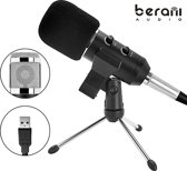 Berani BM800 Handheld Mic universeel Sound Recording microfoon met Tripod Stand voor PC &