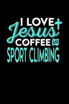 I Love Jesus Coffee and Sport Climbing