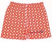 Ducksday pyjama short voor jongens Funky red - 2 jaar