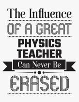 The Influence of a Great Physics Teacher Can Never Be Erased