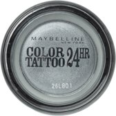 Maybelline Color Tattoo 24H - 50 Eternal Silver - Zilver - Oogschaduw