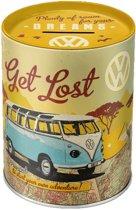 Nostalgic-Art spaarblik Volkswagen T1 Bus - Let's get lost