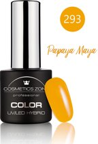 Cosmetics Zone UV/LED Hybrid Gel Nagellak 7ml. Papaya Maya 293