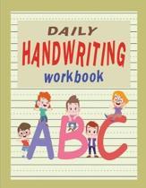 Daily Handwriting Workbook
