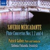 Mercadante-Flute Concertos N.1,2 & 4