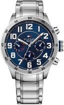Tommy Hilfiger TH1791053 horloge heren - zilver - edelstaal