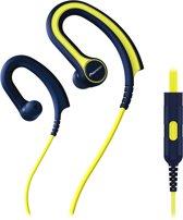 Pioneer in-ear SE-E711T-Y geel / blauw - oorhaak