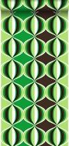 HD vliesbehang retro delight groen - 135436 van ESTAhome.nl