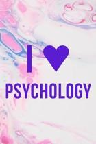 I Psychology: Psychologist Notebook Journal Composition Blank Lined Diary Notepad 120 Pages Paperback Pink