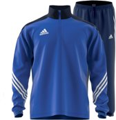 adidas Sereno 14 Trainingspak Heren - blauw/wit