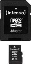 Intenso 16GB Micro SDHC 16GB Micro SDHC Class 10 flashgeheugen