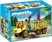 Playmobil Houttransport met kraan - 6813