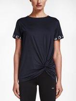 Rohnisch Knot Tee Sportshirt Dames - Black