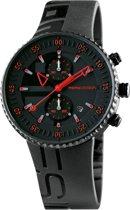 Jet black MD2198BK-21 Mannen Quartz horloge