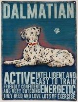 Wandbord - Dalmatian -30x40cm-
