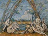 Paul Cézanne : The Large Bathers (1906) Canvas print