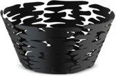 ALESSI Barket Schaal zwart RVS 21 cm