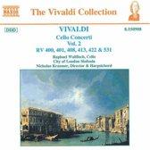 Vivaldi: Cello Concerti Vol 2 / Wallfisch, Kraemer
