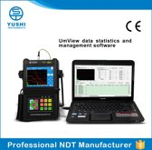 YUT2820 Digital ultrasonic flaw detector non destructive testing ndt equipment