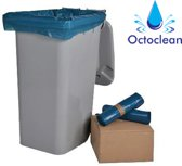Containerzak blauw - 240 liter - blauw - 100 zakken