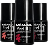 Gel Nagellak - MEANAIL®Peel Off - Delicious - Rosewood - Framboise