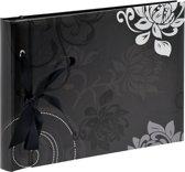 Walther Grindy zwart     23,5x16 40 zwarte   pagina boek   FA200B