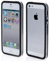 Bumper wit / transparant voor iPhone 5 / 5S