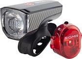 Sigma Aura 40 Fiets Verlichtingsset - LED - 40 Lux - Li-ion accu - USB oplaadfunctie