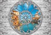 Fotobehang View Venice Canal | L - 152.5cm x 104cm | 130g/m2 Vlies