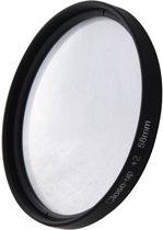 6 in 1 58mm Close-Up Lens Filter Macro Lens Filter + Filter Adapter Ring voor GoPro HERO3
