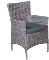 Garden Impressions - Nicosia - dining fauteuil - organic grey