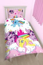 My little Pony Equestria - Dekbedovertrek - Eenpersoons - 135 x 200 cm - Multi
