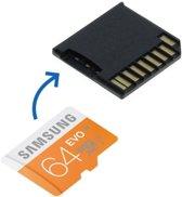 Huismerk Micro SD Adapter + 64GB Samsung geheugen voor MacBook Pro 13