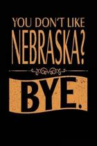 You Don't Like Nebraska? Bye.