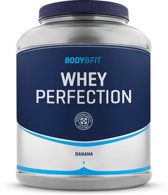 Body & Fit Whey Perfection - Eiwitpoeder / Eiwitshake - 2270 gram - Banaan milkshake