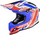 JUST1 Helmet J12 Flame Red-Blue 54-XS